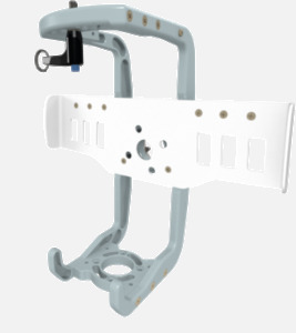 Hillaero AERONOX V2 FAA certified mountable bracket for Air Ambulance Airmed Helicopter or Fixed Wing Aircraft ISO1