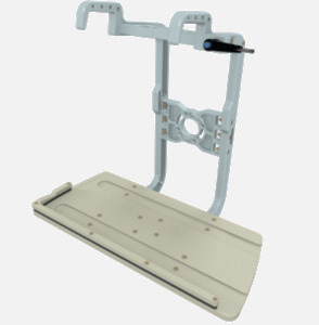 Hillaero IMPELLA FAA certified mountable bracket for Air Ambulance Airmed Helicopter or Fixed Wing Aircraft ISO1