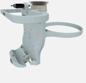 Hillaero LAERDAL FAA certified mountable bracket for Air Ambulance Airmed Helicopter or Fixed Wing Aircraft ISO1