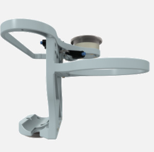 Hillaero LAERDAL FAA certified mountable bracket for Air Ambulance Airmed Helicopter or Fixed Wing Aircraft SIDE