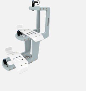 Hillaero MEDFUSION 3500 FAA certified mountable bracket for Air Ambulance Airmed Helicopter or Fixed Wing Aircraft ISO1