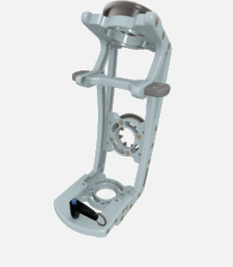 Hillaero MEDPROM 40 FAA certified mountable bracket for Air Ambulance Airmed Helicopter or Fixed Wing Aircraft ISO1