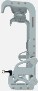 Hillaero PHILLIPS AVALON FAA certified mountable bracket for Air Ambulance Airmed Helicopter or Fixed Wing Aircraft SIDE