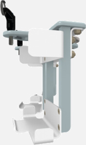 Hillaero SIGMA SPECTRUM FAA certified mountable bracket for Air Ambulance Airmed Helicopter or Fixed Wing Aircraft SIDE